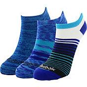 Reebok Stripe Mix No Show Socks 3 Pack