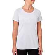 Reebok Women's Burn Out Mesh Inspire Graphic T-Shirt
