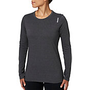 Reebok Women's Heather Core Cotton Long Sleeve Shirt