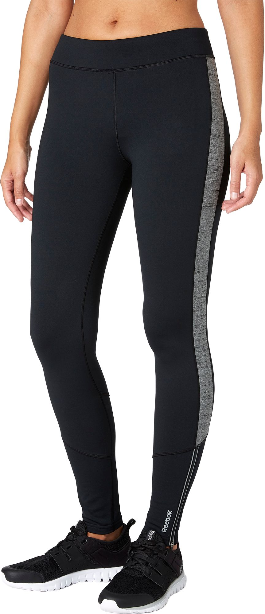 Reebok Women's Cold Weather Compression Solid Novelty Tights | DICK'S  Sporting Goods