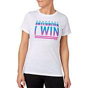 Reebok Women's I Don't Talk I Win Graphic T-Shirt