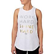 Reebok Women's Shine Graphic High Neck Tank Top