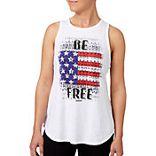 Reebok Women's Be Free Graphic High Neck Tank Top