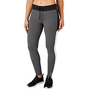 Reebok Women's Stretch Cotton Slim Fit Heather Jogger Pants