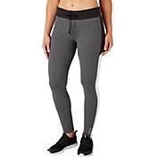 Reebok Women's Stretch Cotton Slim Fit Heather Jogger Pants