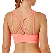 Reebok Women's Heather Crossback Sports Bra