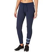 Reebok Women's Mesh Back Slim Fit Pants