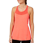 Reebok Women's Performance Mesh Piecing Tank Top