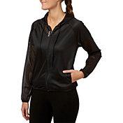 Reebok Women's Mesh Zip Front Jacket