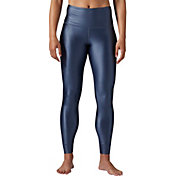 Reebok Women's Metallic High Rise Leggings