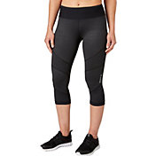 Reebok Women's Performance Essentials Embossed Capris