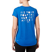 Reebok Women's Fix Your Ponytail Graphic T-Shirt