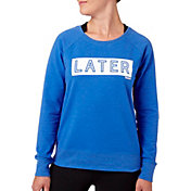 Reebok Women's Later Hater Graphic Sweatshirt