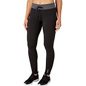 Reebok Women's Stretch Cotton Slim Fit Jogger Pants