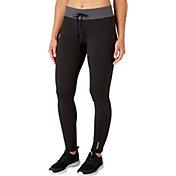 Reebok Women's Stretch Cotton Slim Fit Jogger Pants