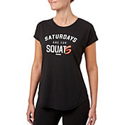 Reebok Women's Saturdays Are For Squats Graphic T-Shirt