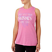 Reebok Swishes Come True Graphic Basketball Tank Top