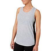 Reebok Women's Heather Side Mesh Tank Top
