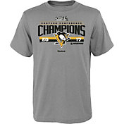 Reebok Youth 2017 NHL Eastern Conference Champs Pittsburgh Penguins Locker Room T-Shirt