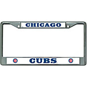 Rico Chicago Cubs Chrome License Plate Frame