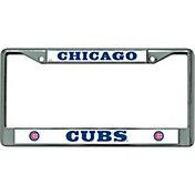 Rico Chicago Cubs Chrome License Plate Frame