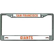 Rico San Francisco Giants Chrome License Plate Frame