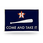 "Rico Houston Astros ""Come and Take It"" Banner Flag"