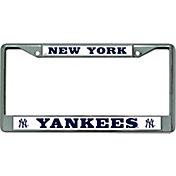 Rico New York Yankees Chrome License Plate Frame