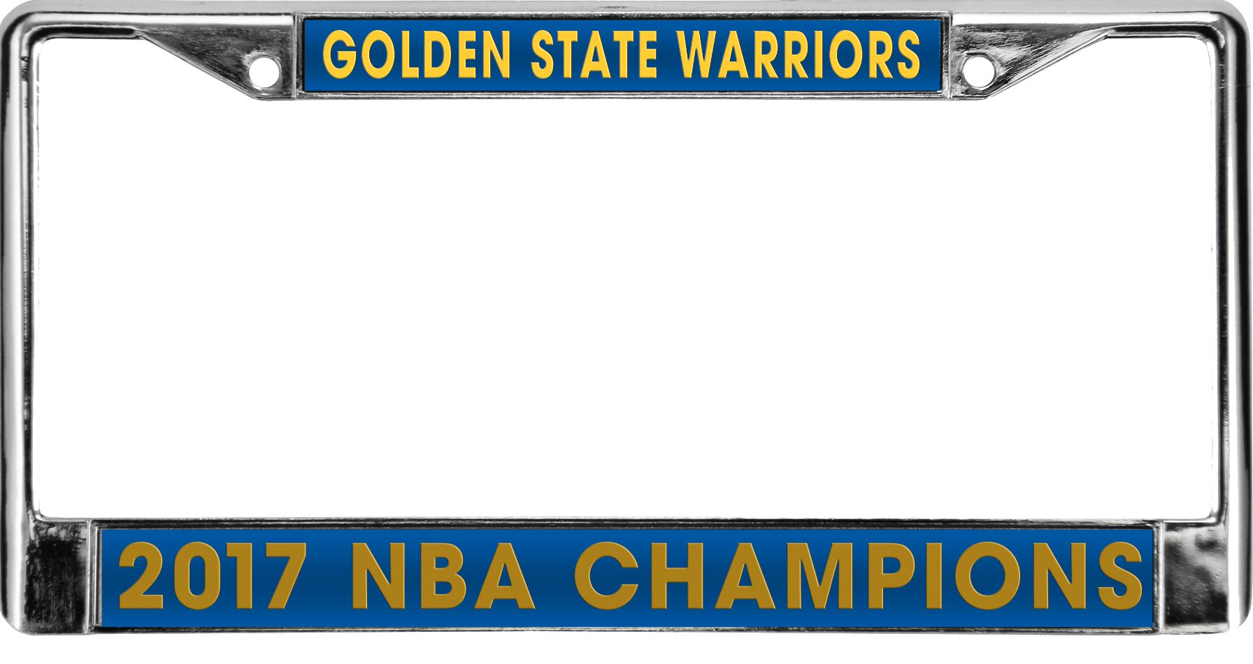 Rico 2017 NBA Finals Champions Golden State Warriors Laser License ...