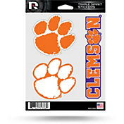 Rico Clemson Tigers Triple Spirit Stickers