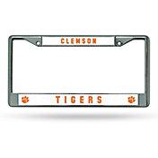 Rico Clemson Tigers Chrome License Frame