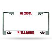 Rico Georgia Bulldogs Chrome License Frame