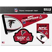 Rico  NFC Champions Atlanta Falcons Magnet Set