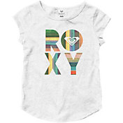 Roxy Little Girls' Fiesta Beach Cap Sleeve T-Shirt