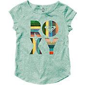 Roxy Little Girls' Fiesta Beach Cap Sleeve T-Shirt