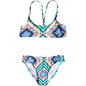 Roxy Girls' Hippie College Athletic Two-Piece Bikini Set
