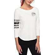 Roxy Women's Soul Club Raglan ¾ Sleeve Shirt