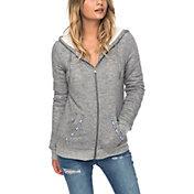 Roxy Women's Trippin Sherpa Full Zip Hoodie