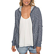 Roxy Women's Trippin Stripe Full Zip Hoodie