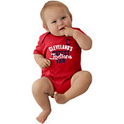 Soft As A Grape Infant Cleveland Indians Red Onesie