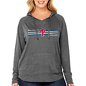 Soft As A Grape Women's Philadelphia Phillies Hoodie