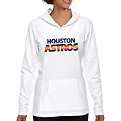 Soft As A Grape Women's Houston Astros White Hoodie