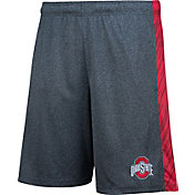 Scarlet & Gray Men's Ohio State Buckeyes Gray Diamond Shorts