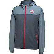 Scarlet & Gray Men's Ohio State Buckeyes Gray Early Season Jacket
