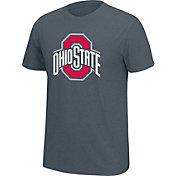 Scarlet & Gray Men's Ohio State Buckeyes Gray Staple T-Shirt