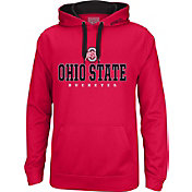 Scarlet & Gray Men's Ohio State Buckeyes Scarlet Foundation Hoodie