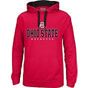 Scarlet & Gray Men's Ohio State Buckeyes Scarlet Foundation Hoodie