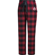 Scarlet & Gray Women's Ohio State Buckeyes Scarlet/Black Flannel Dorm Pants