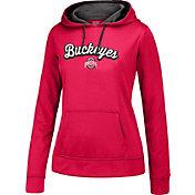 Scarlet & Gray Women's Ohio State Buckeyes Scarlet Essential Hoodie