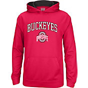 Scarlet & Gray Youth Ohio State Buckeyes Scarlet Foundation Fleece Hoodie